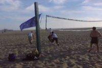 beach volley  santorini